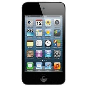 Lettore MP3 Apple iPod Touch 4G 8GB Nero 4.Generation Musik Mp3 Video Player (WLAN Foto Video Funktion) (4G 8GB, Nero)