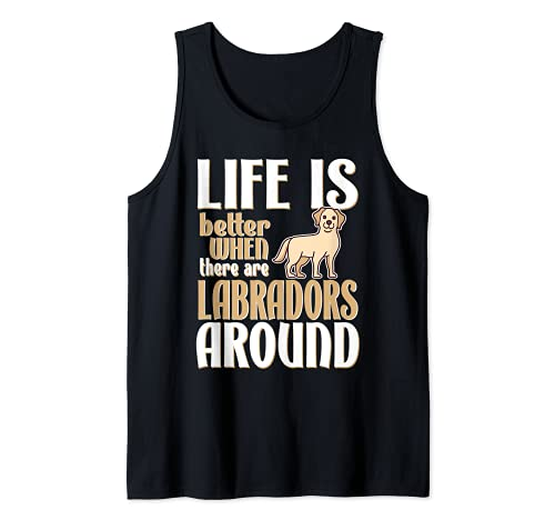 Cute Labrador Retriever Life Is Better With Yellow Labs Canotta