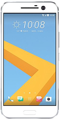 HTC One 10 Smartphone (13.2 Centimeter Display AMOLED, 1440 x 2560 Pixel, 12 Megapixel, 200 GB, Android) Argento