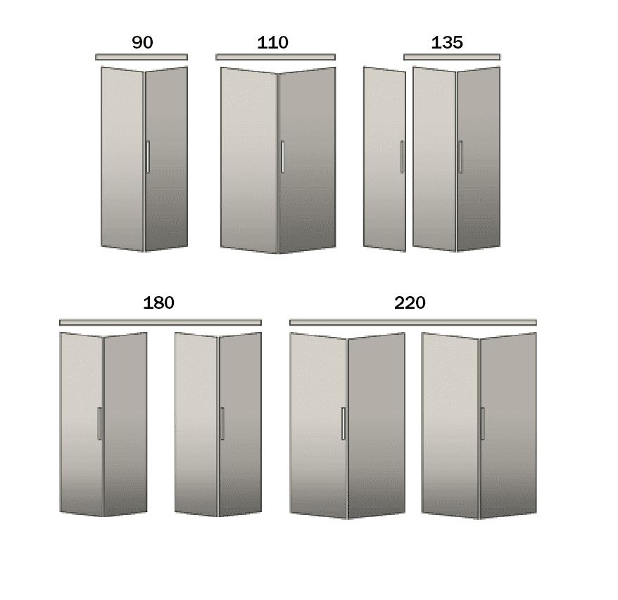 Armadietti Con Ante A Soffietto Ikea