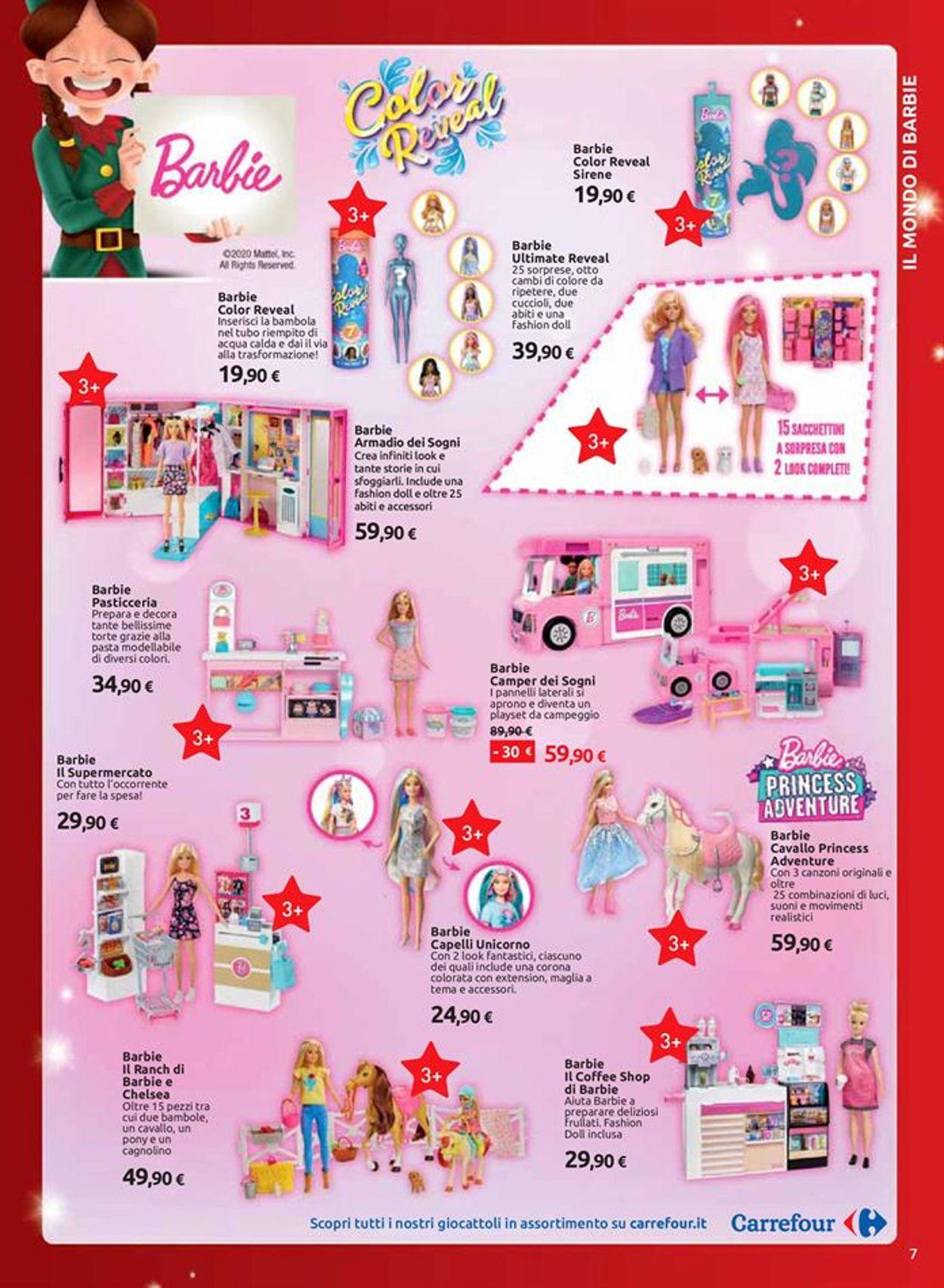 Armadio Barbie Carrefour