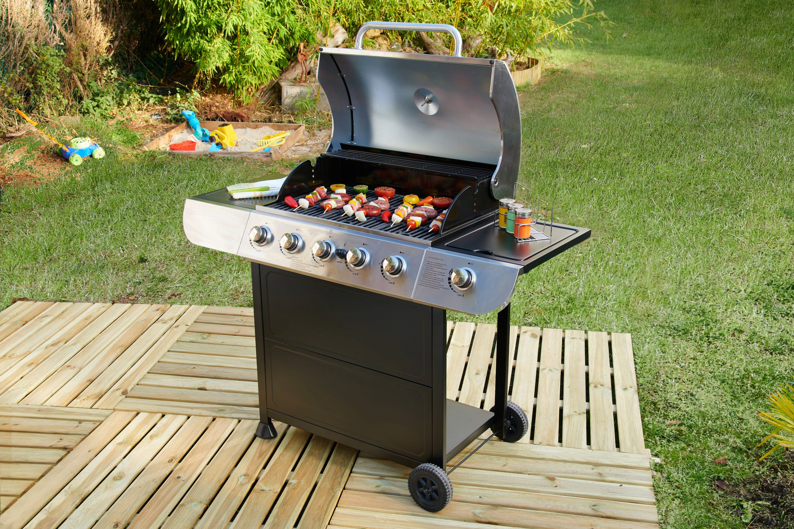 Barbecue A Gas Carrefour