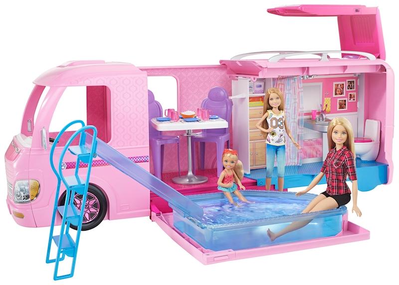 Barbie Camper Carrefour
