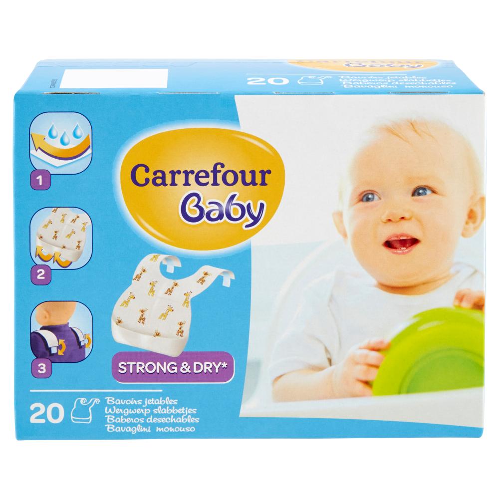 Bavaglini In Plastica Carrefour