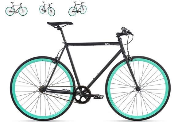 Bike Fixie Carrefour