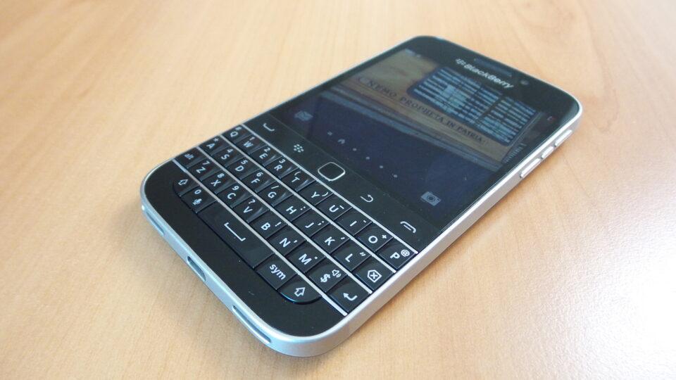 Blackberry Classic Unieuro