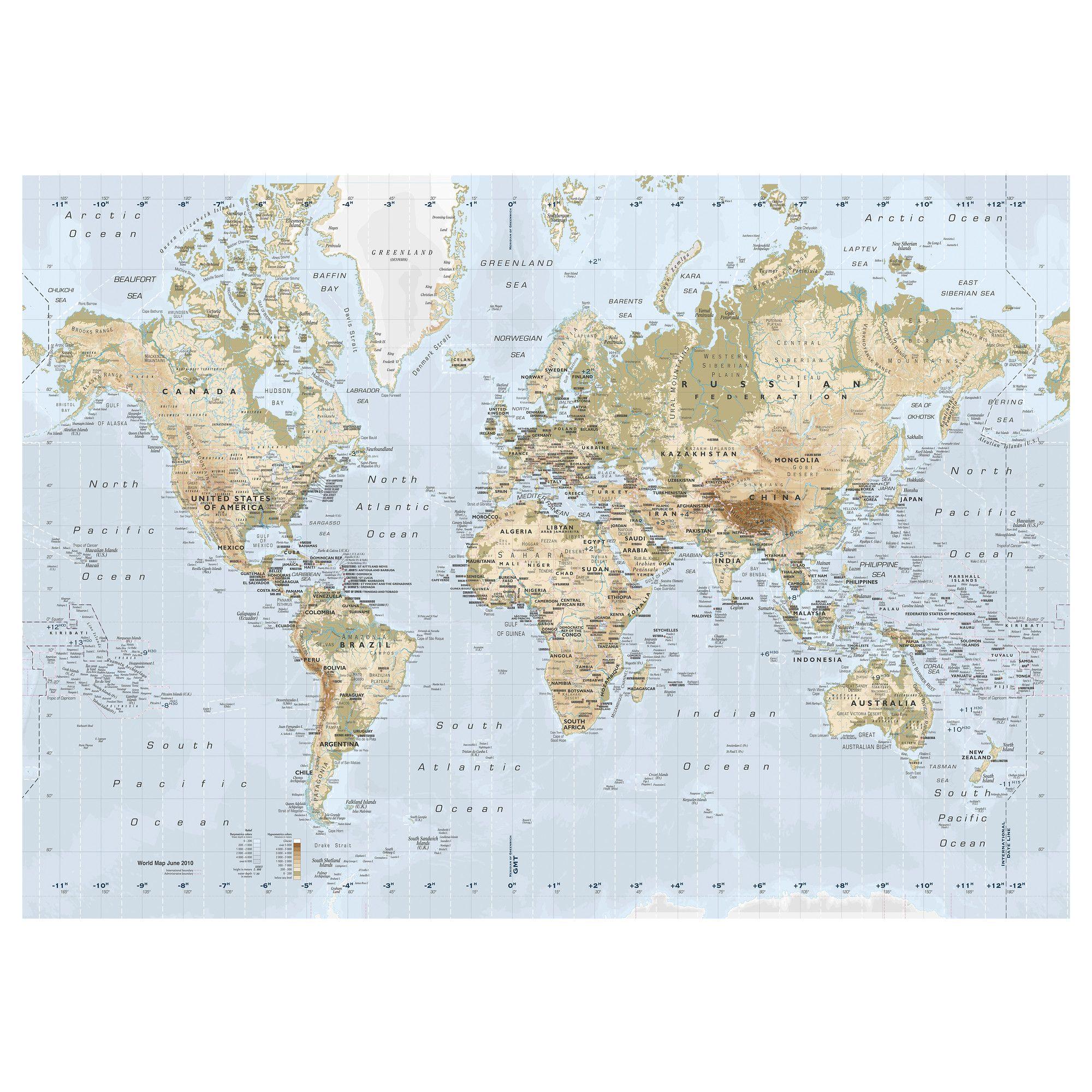 Box Mappa Del Mondo Ikea