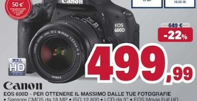Canon Eos 600D Unieuro