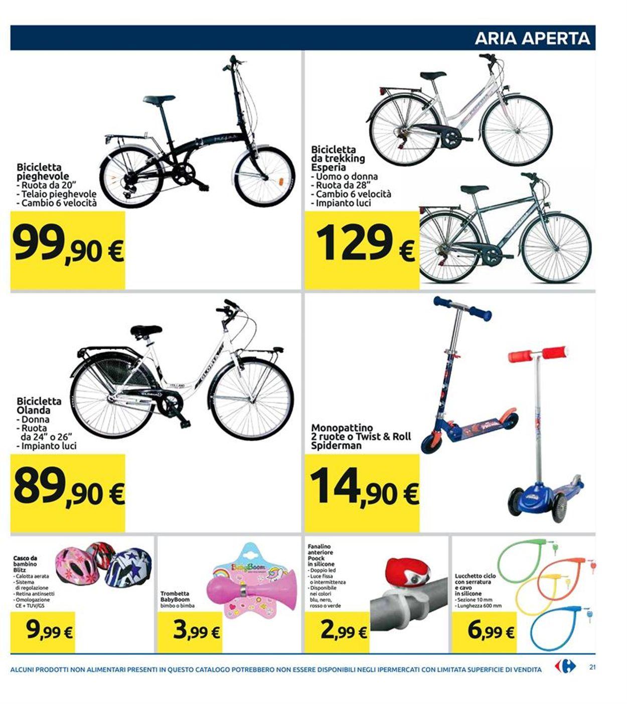 Casco Da Bicicletta Carrefour