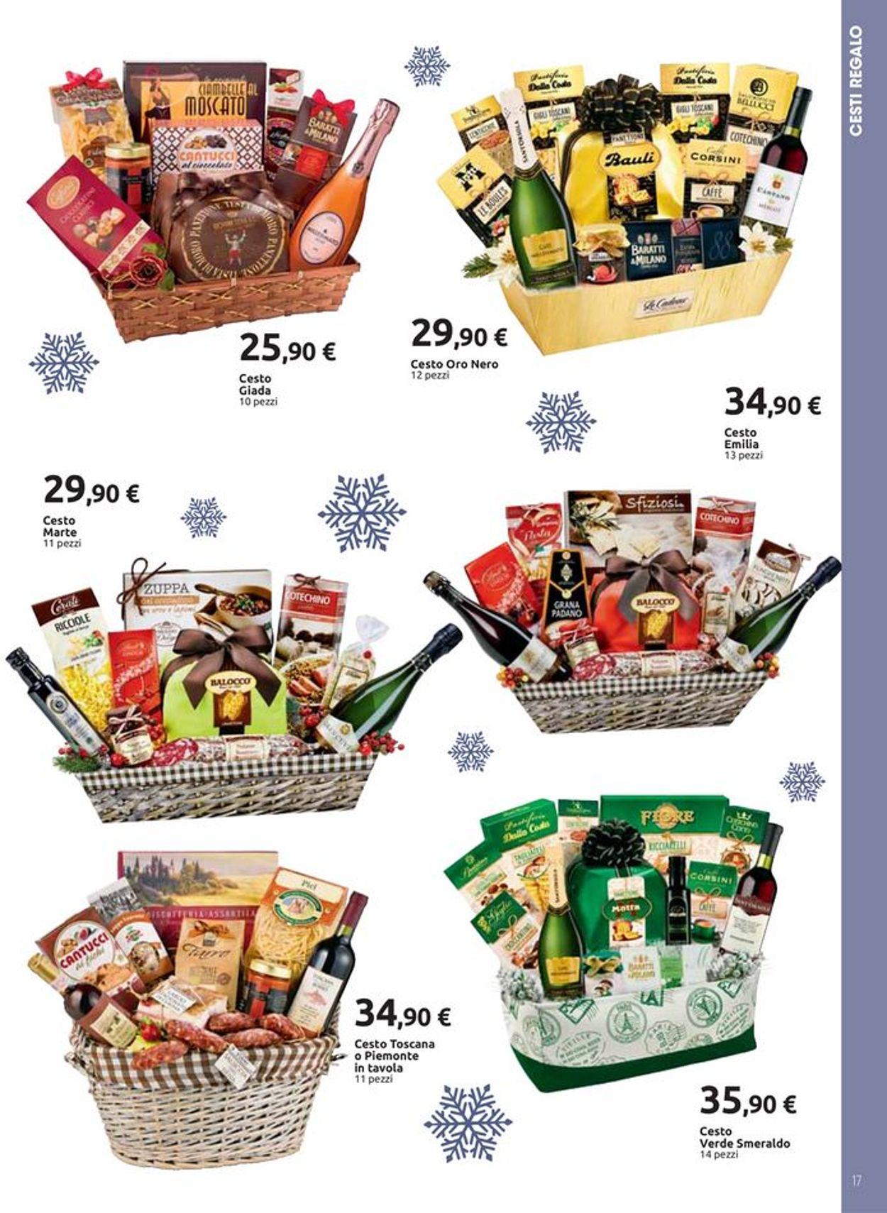Cestino Di Natale Carrefour