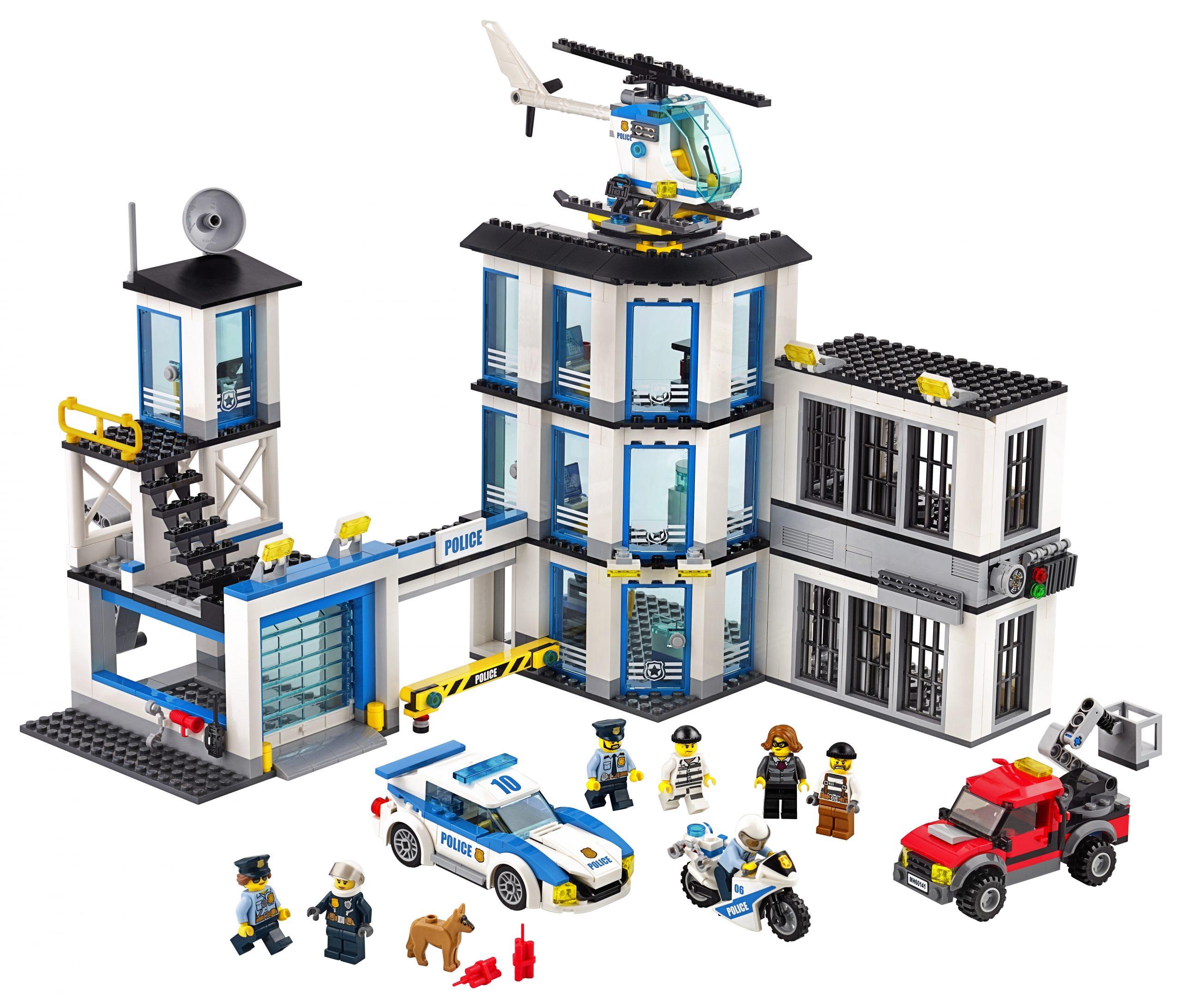 Commissario Di Polizia Lego Carrefour
