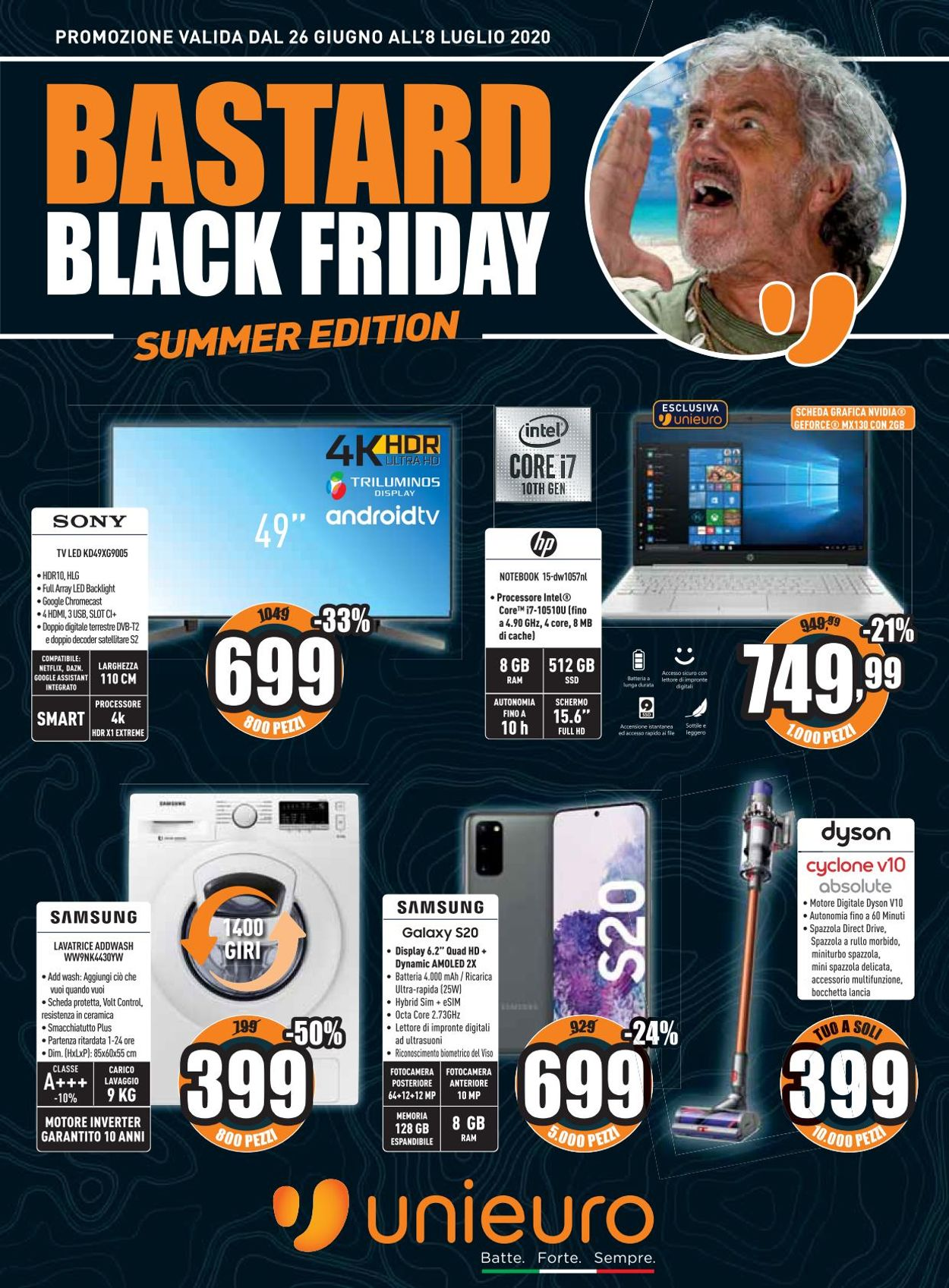 Dyson Black Friday Unieuro