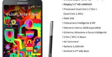 Galaxy Note 3 Neo Unieuro