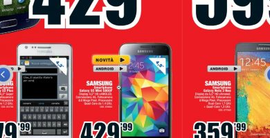 Galaxy S5 Mini MediaWorld