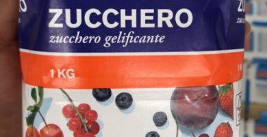 Gelificante Zucchero Lidl