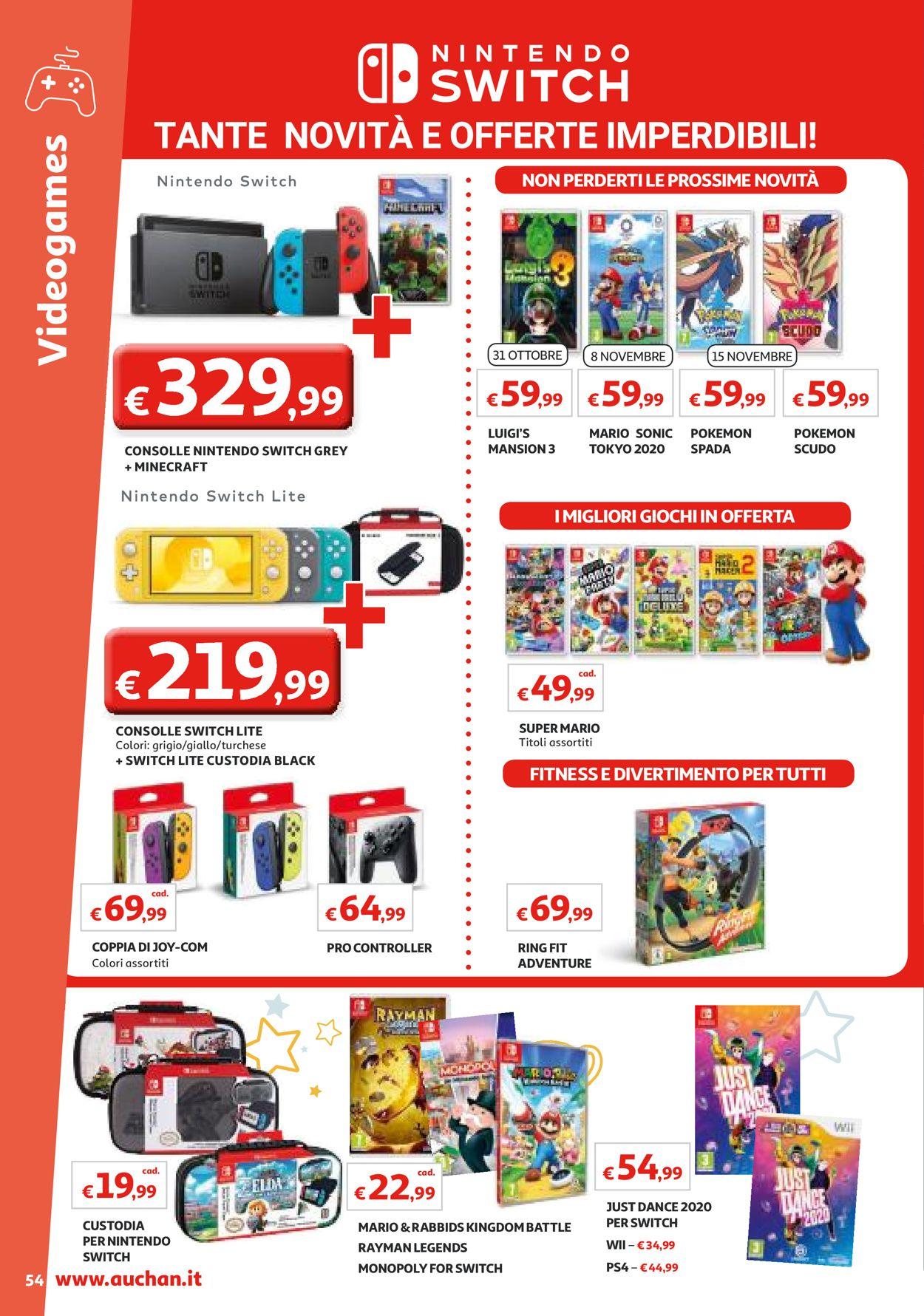 Giochi Nintendo Switch Auchan