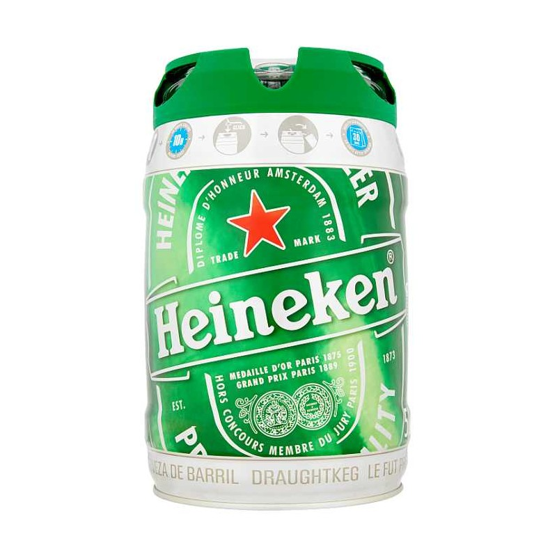Heineken Barile 5 Litri Carrefour