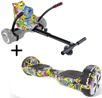 Hoverboard Kart Carrefour