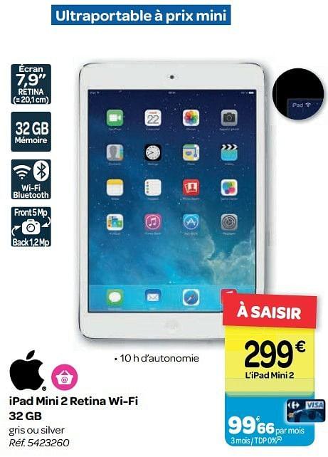 Ipad Mini 2 Carrefour