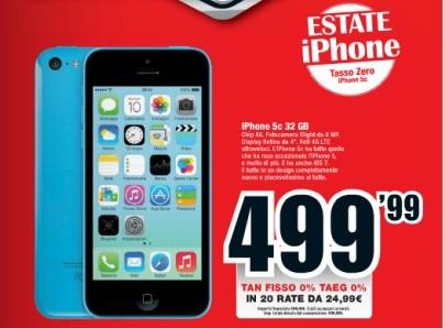 Iphone 5C 32Gb MediaWorld