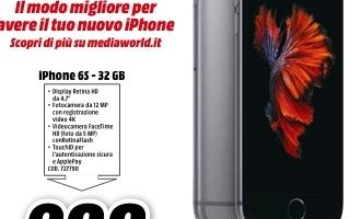 Iphone 6S 32Gb MediaWorld