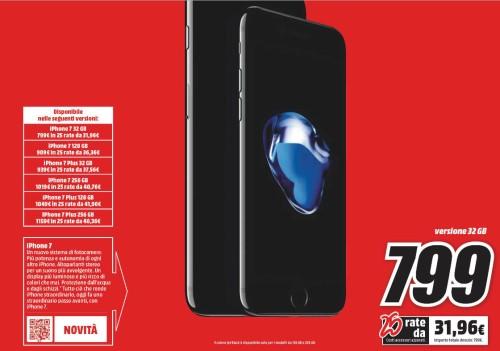 Iphone 7 Plus Prezzo MediaWorld