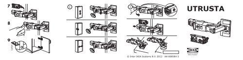 Istruzioni Della Cerniera Ikea