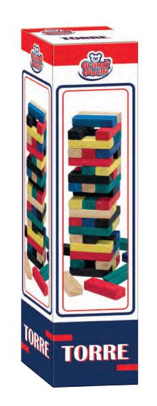 Legno Torre Di Legno Gioco Carrefour