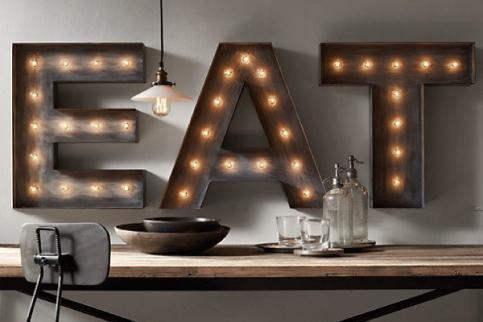 Lettere Luminose Ikea