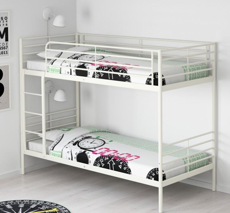 Letto A Castello Bianco Ikea