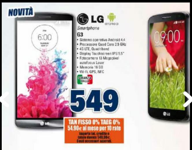 Lg G3 32Gb Unieuro