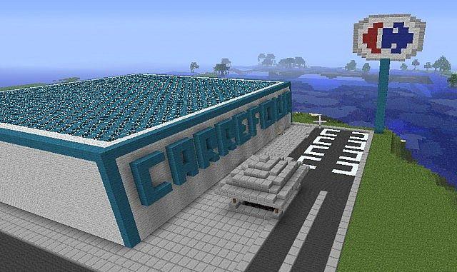 Minecraft Carrefour