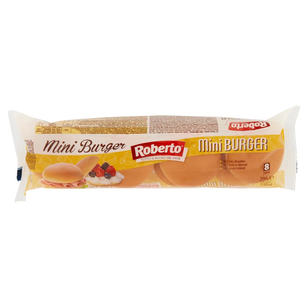 Mini Burger Pane Carrefour