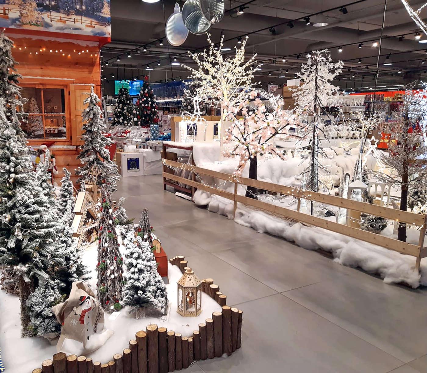 Natale 4 Stazioni Carrefour