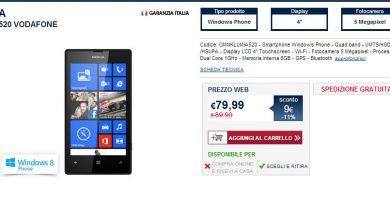 Nokia Lumia 520 Unieuro