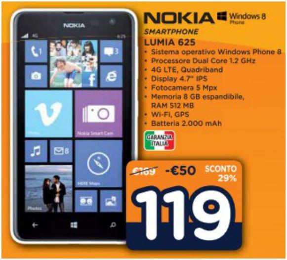 Nokia Lumia 625 Unieuro