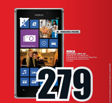 Nokia Lumia 925 MediaWorld
