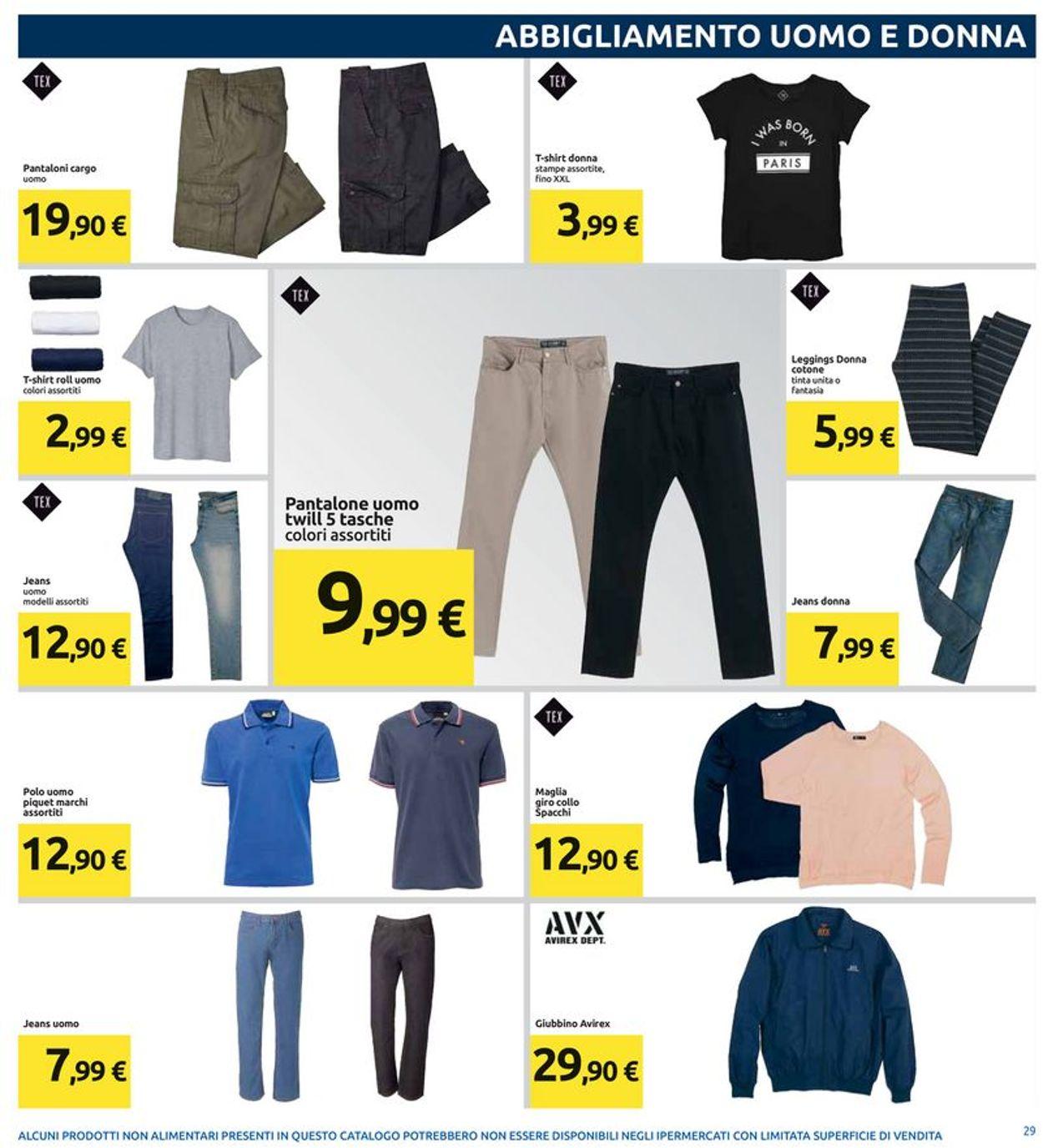 Pantaloni Da Uomo Carrefour