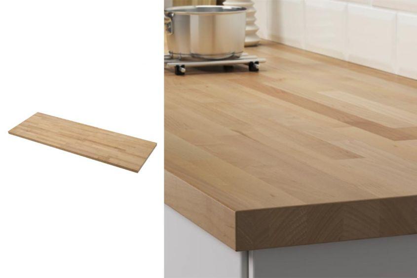 Piano Di Lavoro In Rovere Ikea