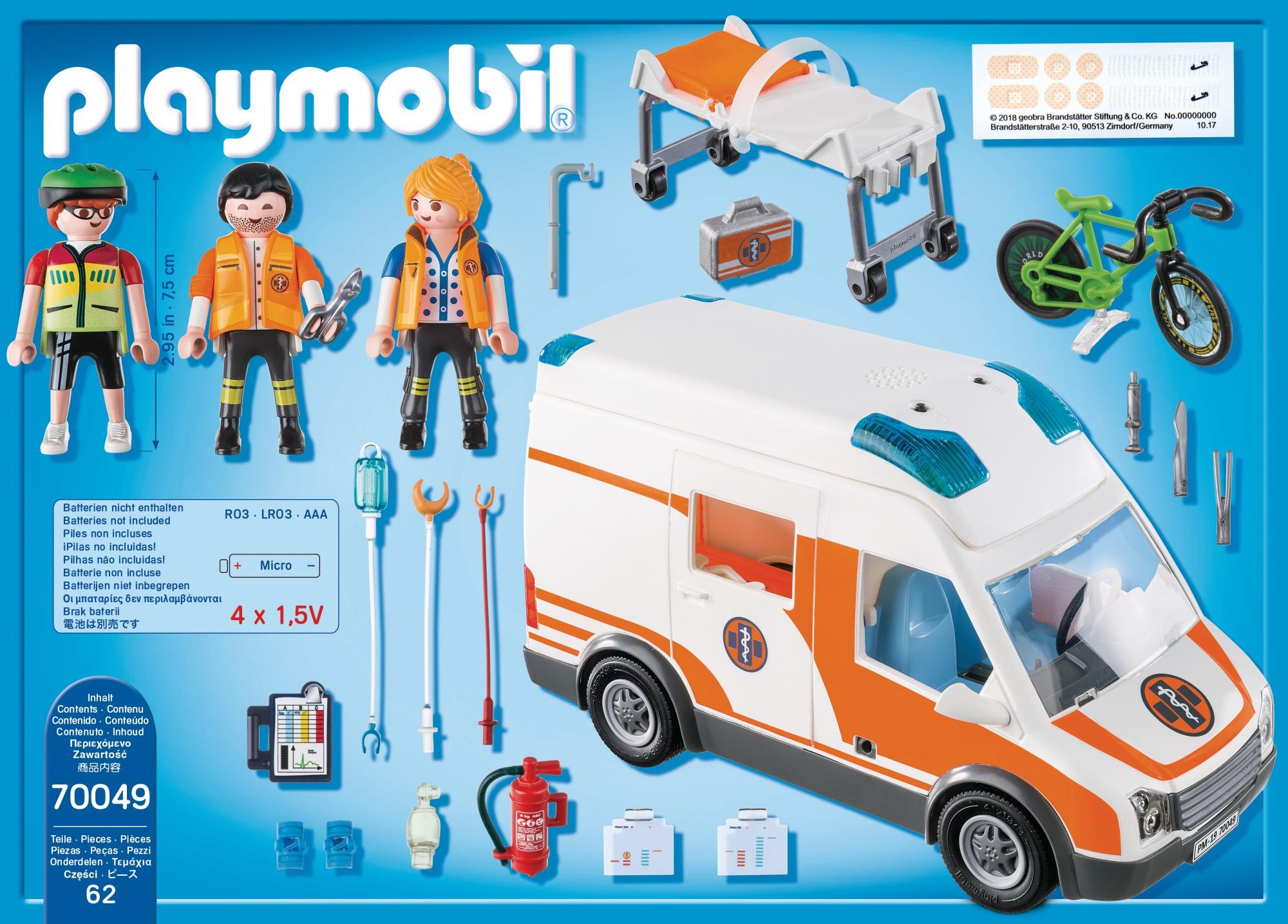 Playmobil Ambulanza Carrefour