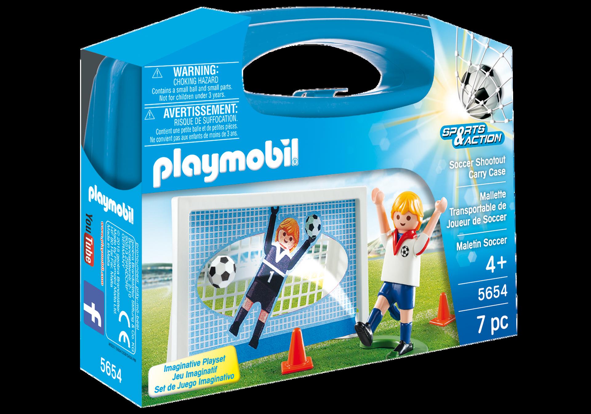 Playmobil Caso Di Calcio Carrefour