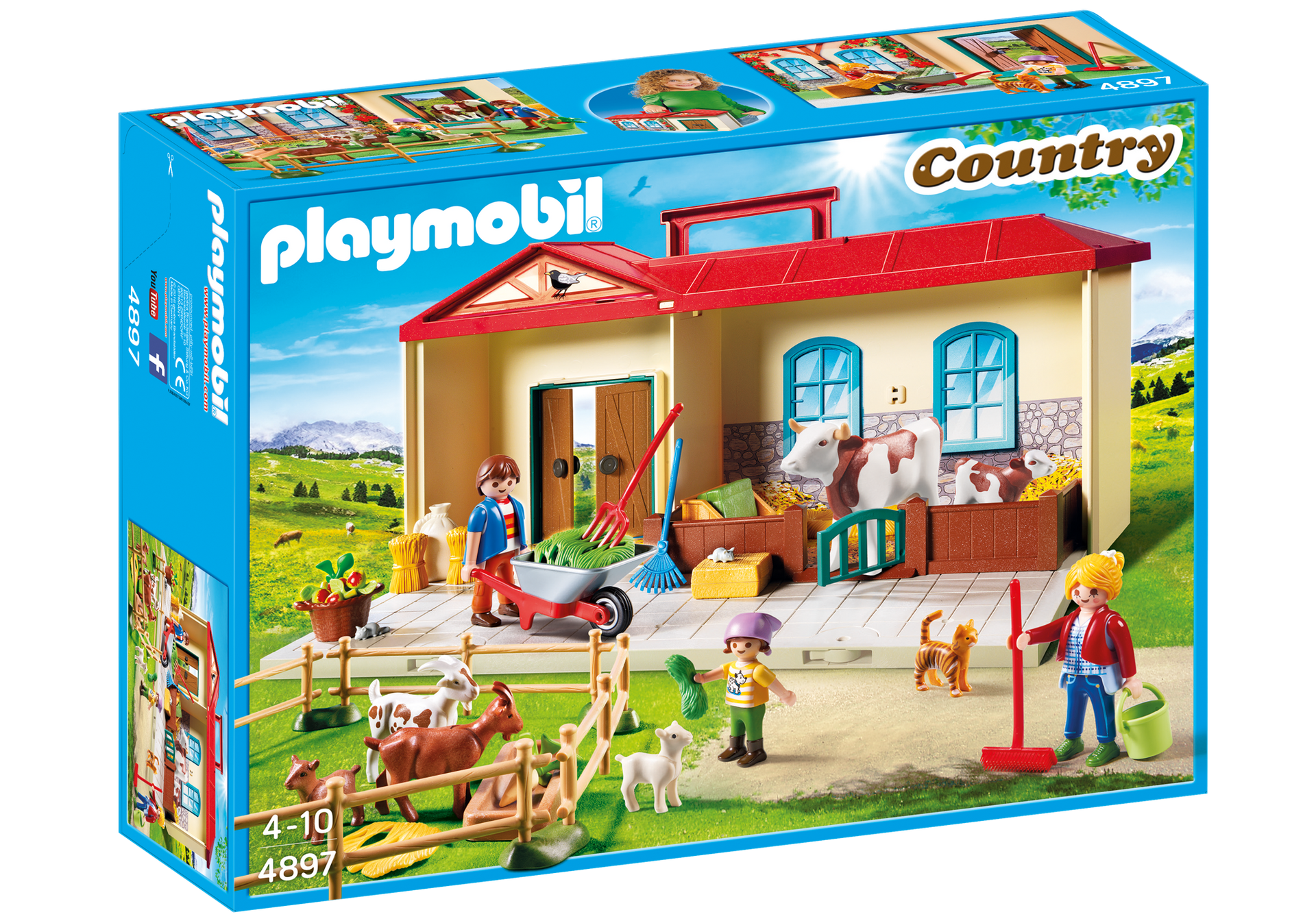 Playmobil Farm Carrefour