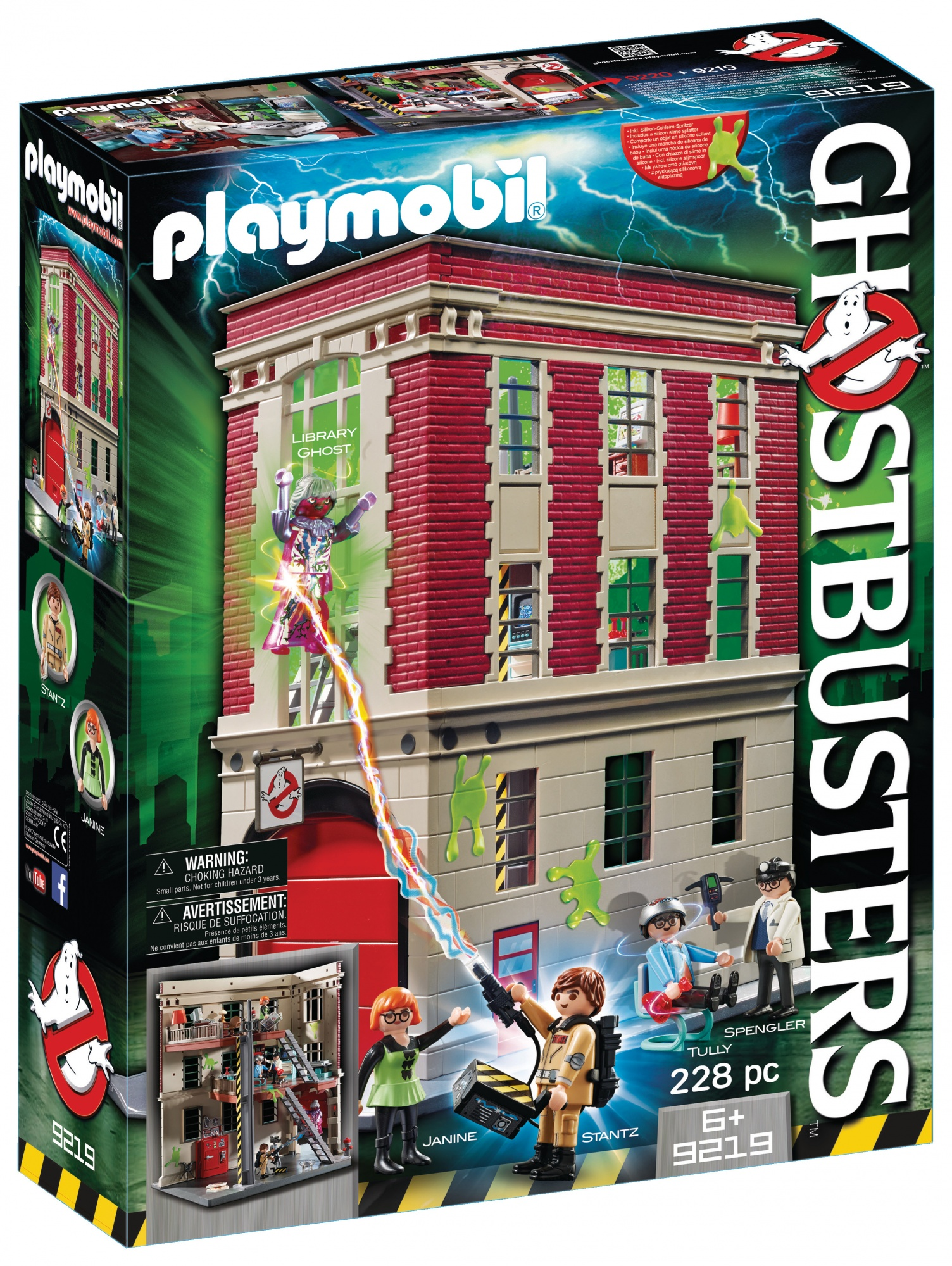 Playmobil Ghostbusters Carrefour