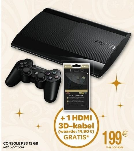 Playstation 3 Carrefour