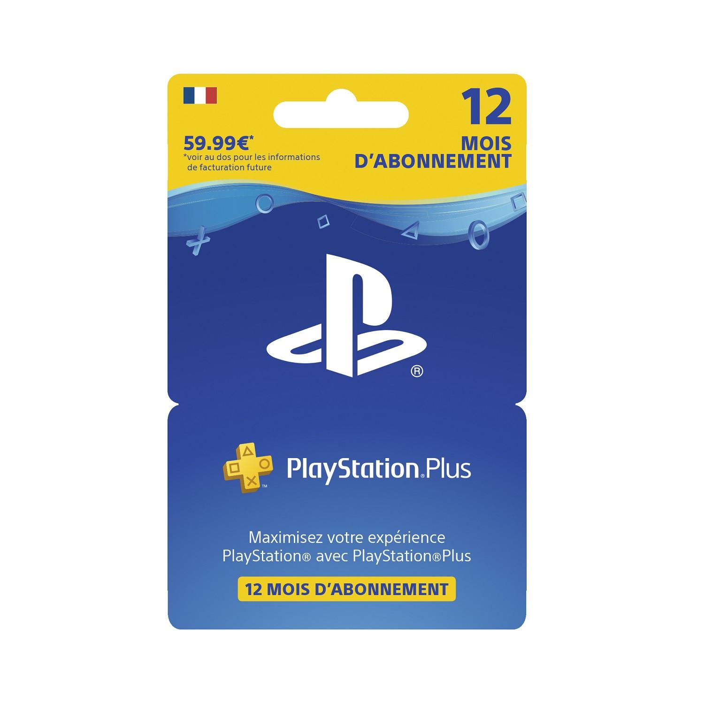 Playstation Plus Carrefour