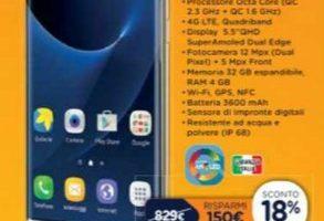 Prezzo Samsung S7 Edge Unieuro