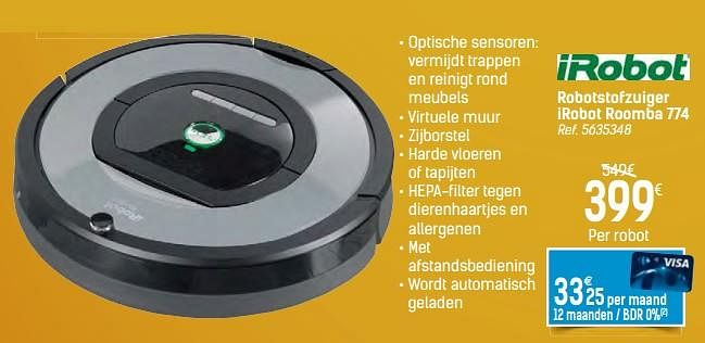 Roomba 774 Carrefour
