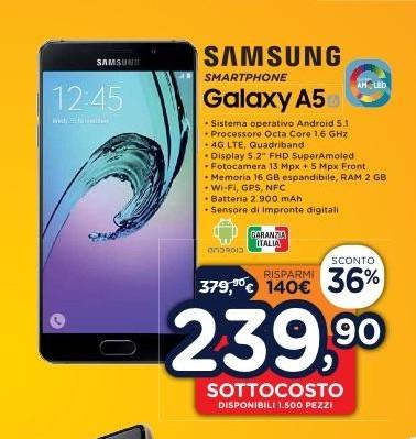 Samsung Galaxy A5 Unieuro