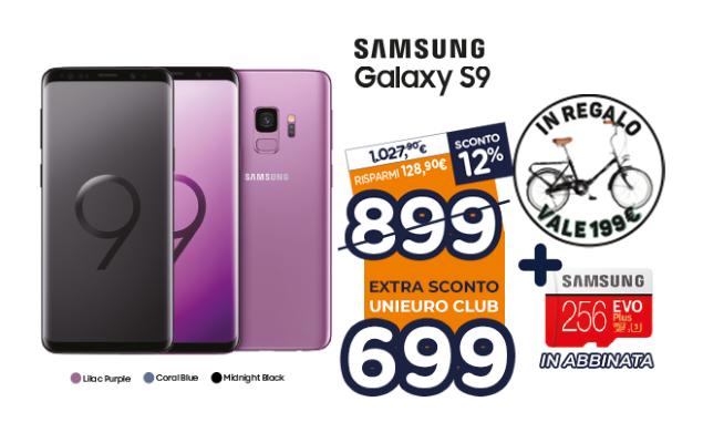 Samsung Galaxy S9 Unieuro