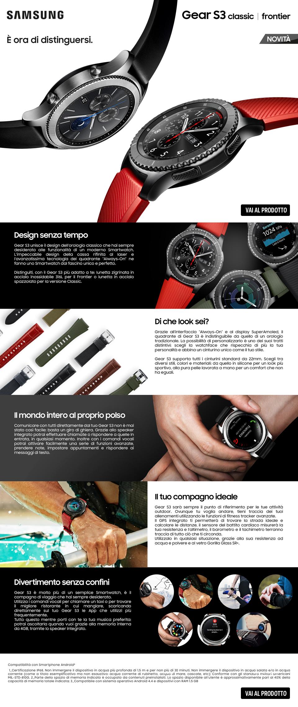 Samsung Gear S3 MediaWorld
